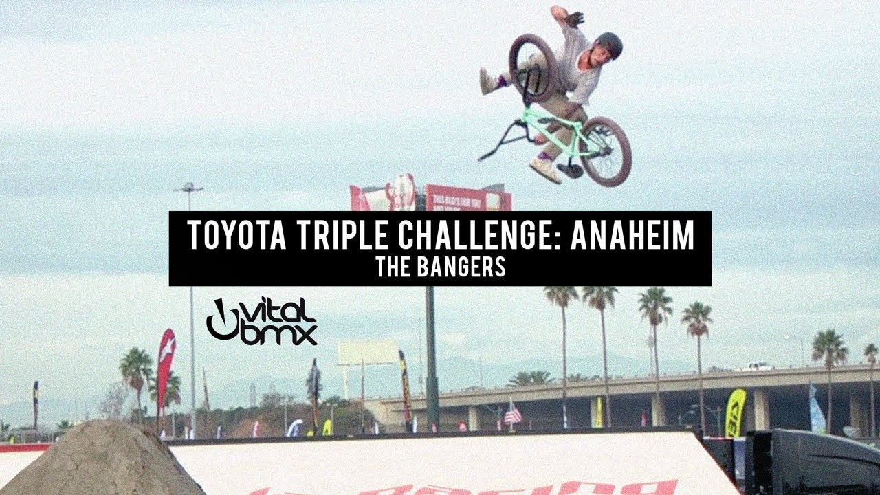THE BANGERS at Toyota Triple Challenge: Anaheim