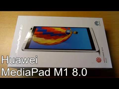 MediaPad M1 8.0 Unboxing