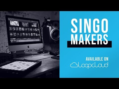 Singomakers is now on Loopcloud | Pop, Trap, Psytrance Samples, Loops, Sounds