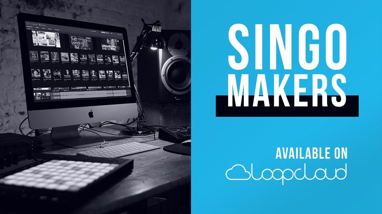 Singomakers is now on Loopcloud | Pop, Trap, Psytrance Samples, Loops, Sounds #1
