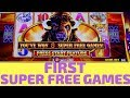Buffalo Gold SUPER FREE GAMES - Wonder 4 Tall Fortunes Slot Machine Bonus