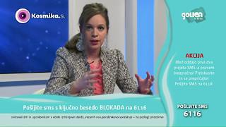 KosmikaTV: Vedeževalka Špela - Dvig zavesti (9.5.2017)