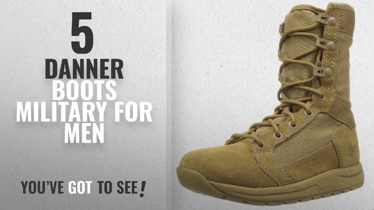 04fe90ab33d Top 10 Danner Boots Military [ Winter 2018 ]: Danner Men's Tachyon 8 Inch  Military and Tactical