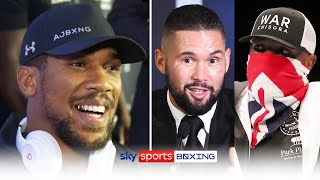 Anthony Joshua reveals the advice Bellew \u0026 Chisora have told him before fighting Usyk