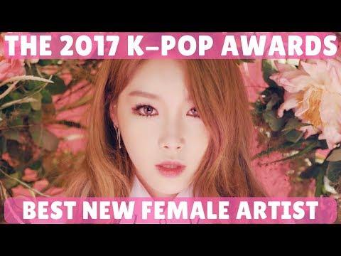 2017 K-Pop Music Awards (Best New Female Artist Nominees)