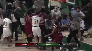 COLLEGE BASKETBALL FIGHTS 2017-18