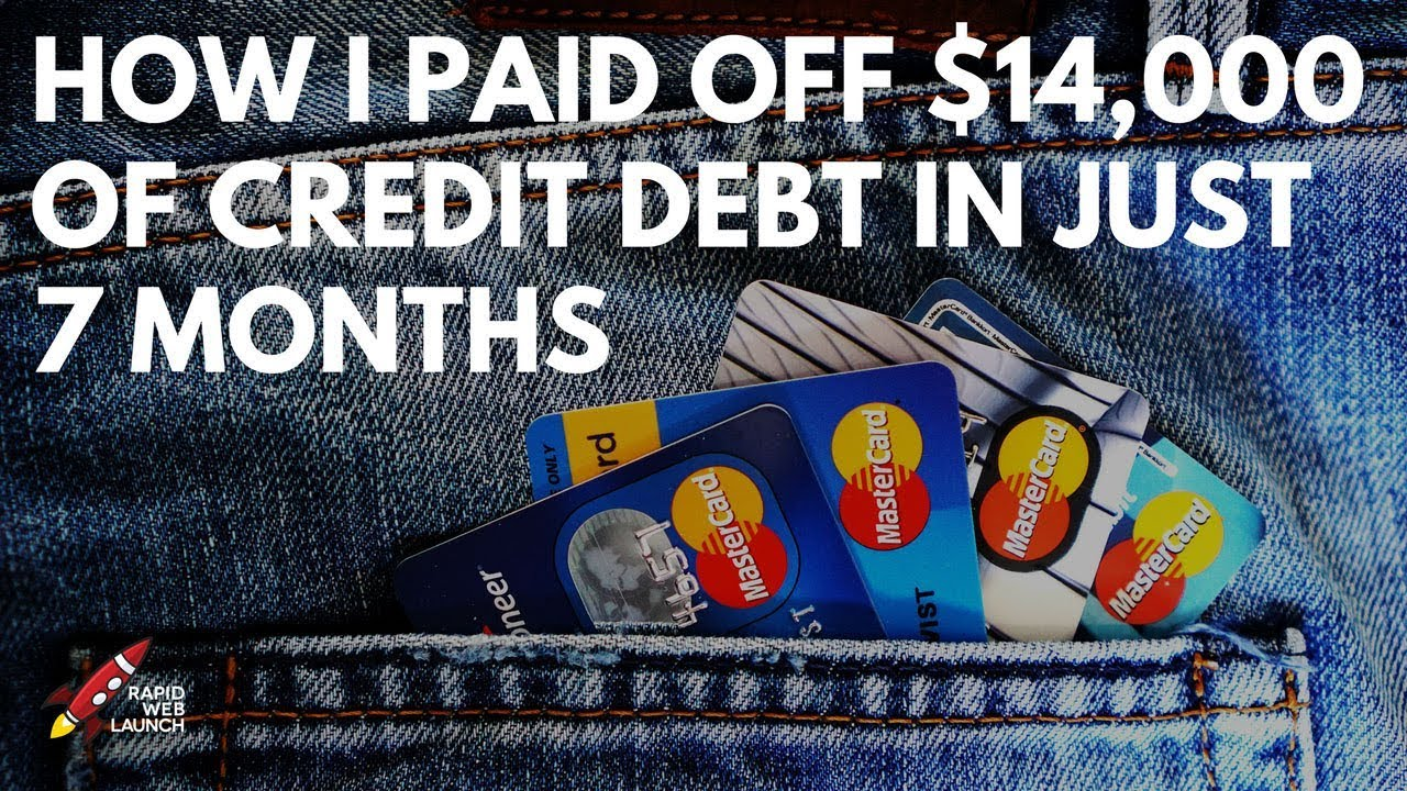 How I Paid Off $14,000 in Credit Card Debt in Just 7 Months