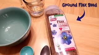 Easy Vegan flax seed Egg! Egg replacement