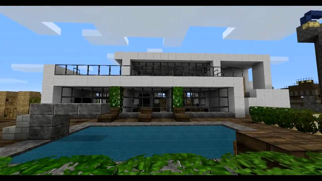Minecraft Modern House.mp4 - YouTube on Amazing Modern Houses  id=79765