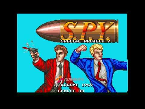 S.P.Y. Special Project Y. (Arcade) 2 Loop Game Clear (HD60)