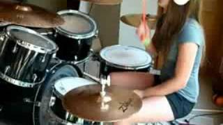 plus 44- when your heart stops beating drum cover