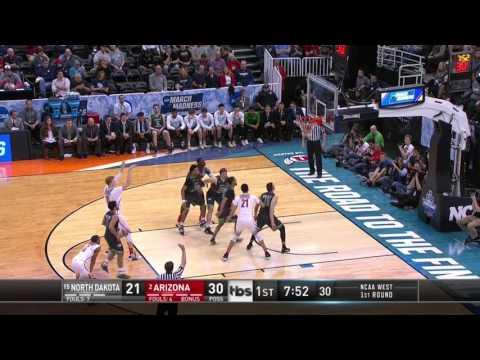 Lauri Markkanen 20 Points vs North Dakota // NCAA Tournament Highlights
