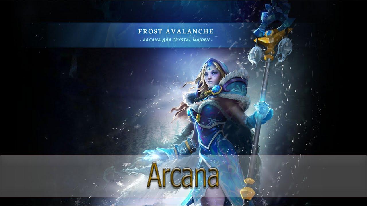 Arcana для Crystal Maiden [Frost Avalanche] | Doovi