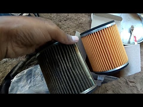 How to clean and change Air filter of passion pro bike.