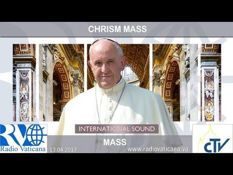 2017.04.13 Chrism Mass