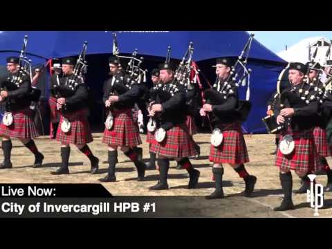 Grade 1 MSR and Medley - 2016 New Zealand National Pipe Band Championship