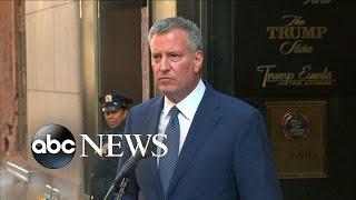 NYC Mayor Brings List of Concerns to Trump Meeting