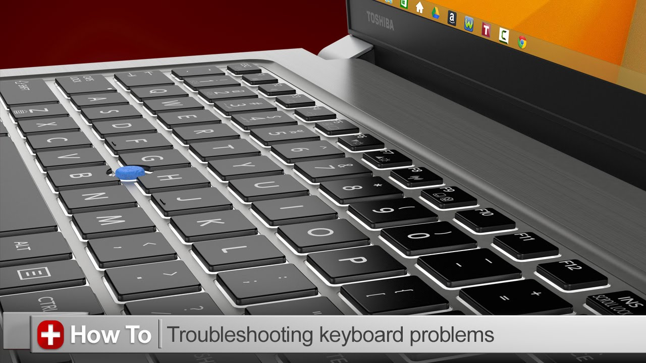 Toshiba How To Troubleshooting Keyboard Issues On A Laptop Computer Circuit Board Mousepad By Admincp70839509 Youtube