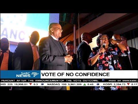 President Zuma's no confident vote victory speech