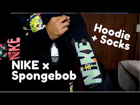 SPONGEBOB X Nike X Kyrie Irving HOODIE AND SOCKS