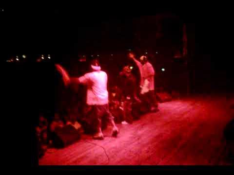 Silkski Takes Stage at the Blackout 2 Tour with Ghostface Killah in Las Vegas, NV on 08.13.2009