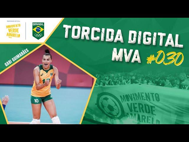 Torcida Digital MVA #030 - Tóquio 2020 - Vôlei Feminino: Brasil x Rússia, quartas de final