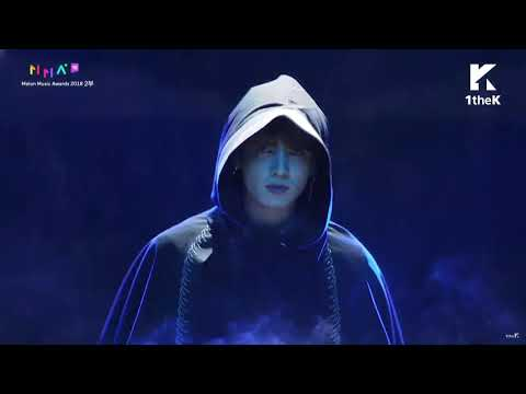 Melon Music Awards 2018 BTS WHO ARE YOU멜론뮤직어워드