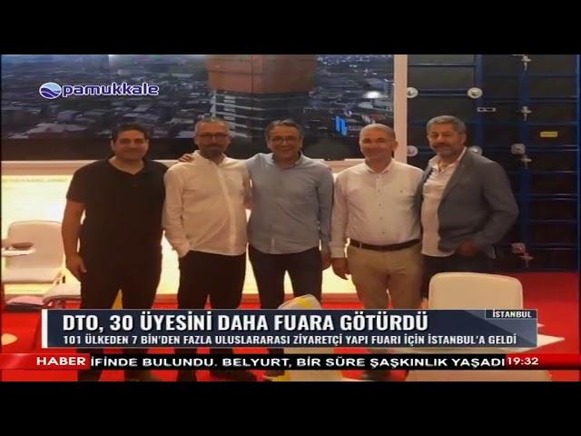 Pamukkale TV-Denizli Ticaret Odası, 30 üyesini daha fuara götürdü 24.06.2019