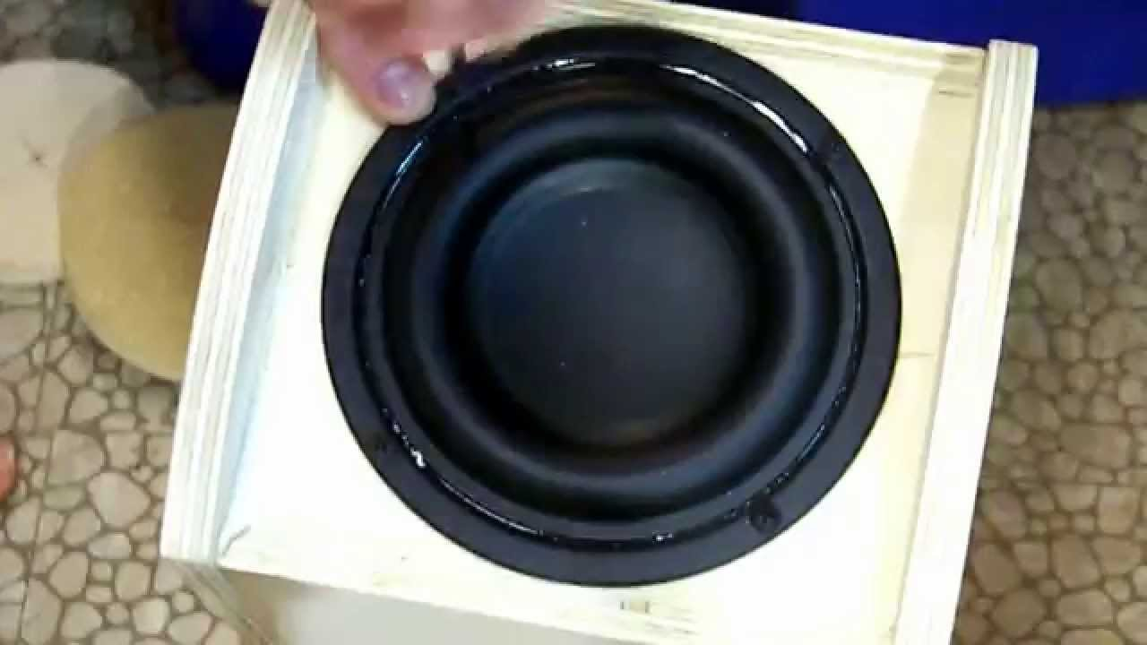 (DIY 2.1 System Part 1) Building the Subwoofer - YouTube