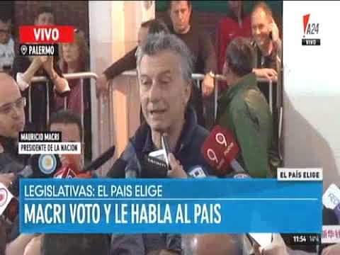 Votó Macri y se desentendió de la desaparición forzada de Santiago Maldonado