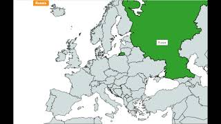 Countries in Europe Song