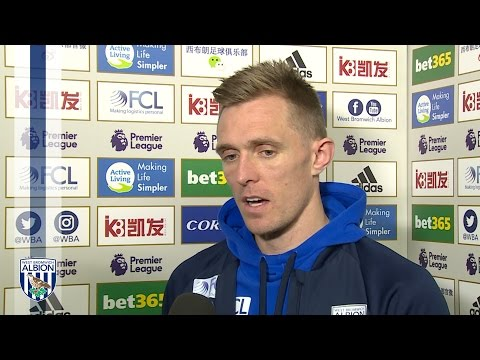 Darren Fletcher speaks after scoring in Albion's 2-0 win over Sunderland