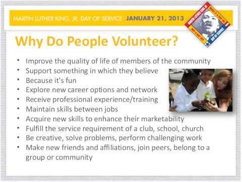 Recruiting Volunteers Webinar