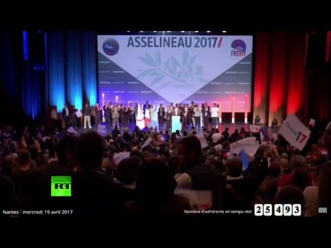 EN DIRECT : François Asselineau donne rendez-vous à ses partisans à Nantes