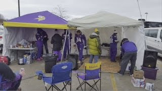 Vikes Aim To Warm Up Fans At TCF Stadium