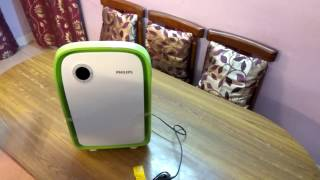 Philips Air Purifier AC4025 40 -Watt -UNBOXING (White/Green)