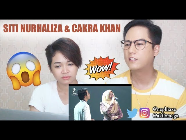 Singers React to Seluruh Cinta feat. Cakra Khan Live - Dato' Siti Nurhaliza & Friends Concert