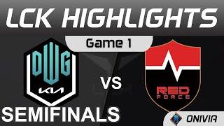 DK vs NS Highlights Game 1 Semifinals LCK Summer Playoffs 2021 DWG KIA vs Nongshim RedForce by Onivi