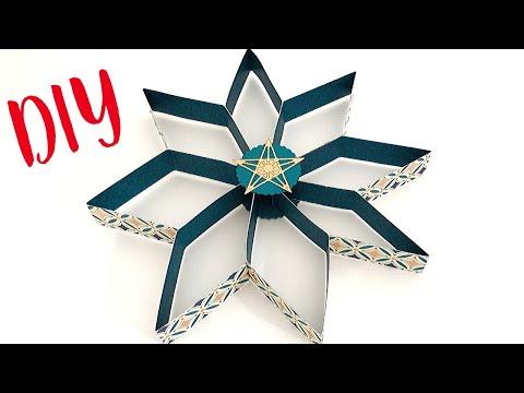 Diy Weihnachtsdeko Basteln Sterne Basteln Mit Papier How To