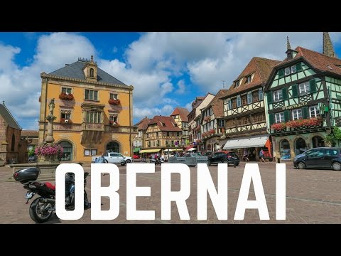 My Visit to Obernai, France | Alsace 2016