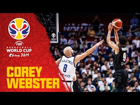 Corey Webster sinks 7-3PTS shots! Puts up 31PTS vs. Greece! - FIBA Basketball World Cup 2019