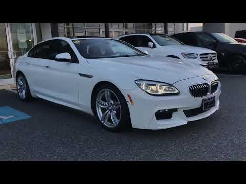 2017 BMW 6 Series 640i xDrive Gran Coupe ** Pohanka Certified 10 year / 100,000 **
