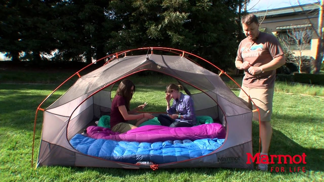 Limelight 3P Tent: Marmot's Curly's Clips - YouTube