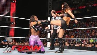 Brie Bella vs. Naomi: Raw, February 29, 2016