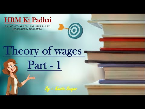 Theory Of Wages Part 1 - HRM Study Material