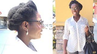 Flat Twist Crown Natural Hair Tutorial | KinkyCurlyCoilyMe.com