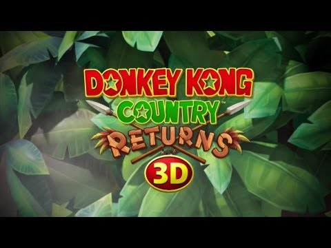 Donkey Kong Country Returns 3D - Official Trailer