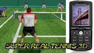Super Real Tennis 3D (старая Java-игра, ностальгия-плей)