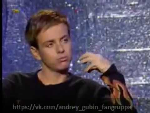 Андрей Губин в программе Сдобный вечер (2000г.)
