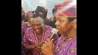 Saheed Osupa, King Sunny Ade Perform & sprays Yoruba Actor, Lere Paimo  On His Birthday